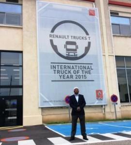 Visite de l'usine Renault